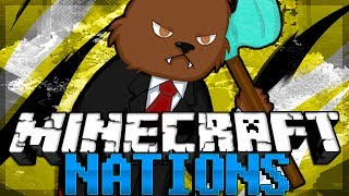 GENERAL Jerome RETURNS! Minecraft Nations Minigame w/ BajanCanadian and NoahCraft