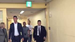 Cristiano Ronaldo Arrives At Mtg Studios, Japan | 07-07-2015 [hd]