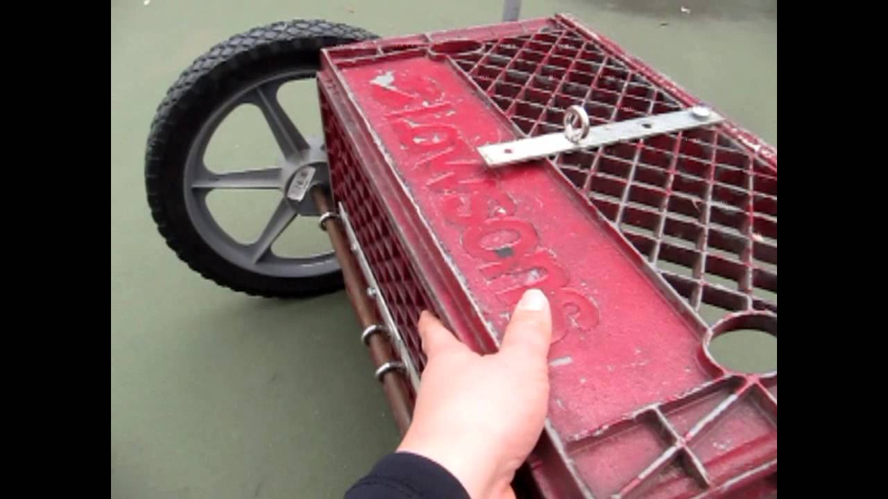 How to Build Training Shafts and a Cart for your Dog