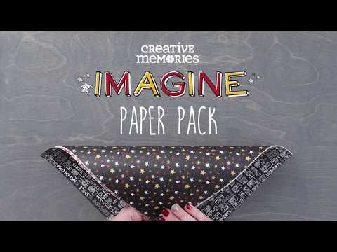 Imagine Paper Pack by Creative Memories