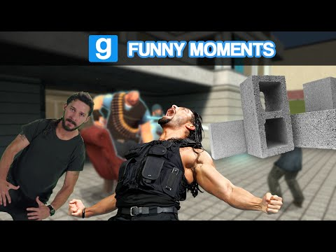 Garry's Mod Ragdoll Combat- SPEAR!!! (Garry's Mod Funny Moments)