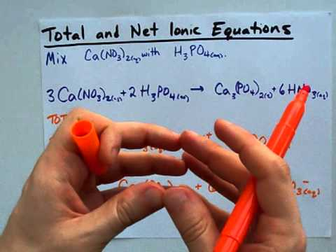How To Write Total And Net Ionic Equations (Easy)