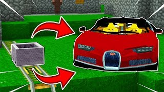 how to make supercars in minecraft extremely fast