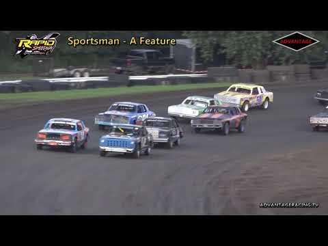 Sportsman Heat/Feature - Rapid Speedway - 7/20/18