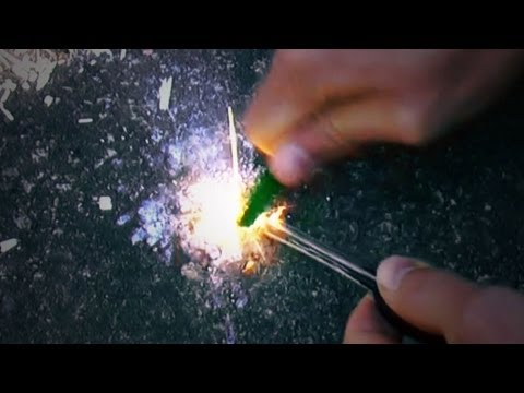 How To Use A Magnesium/Flint Fire-starter