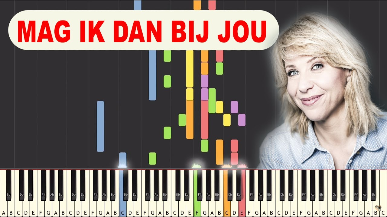 Mag Ik Dan Bij Jou Claudia De Breij Piano Les Youtube