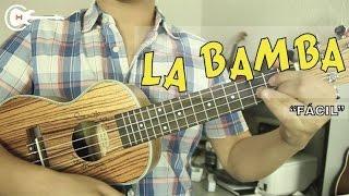"""Como tocar """"La Bamba"""" en el Ukulele - Tutorial + Acordes FÁCIL (HD)"""