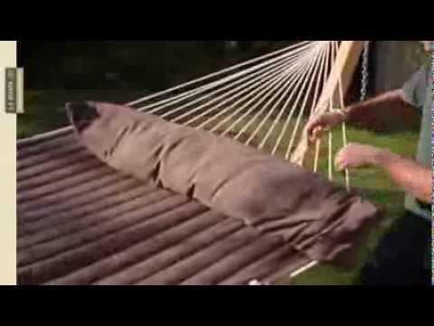 Hamac Alabama La Siesta Kingsize Confortabil Si Cu Bare Weatherproof Hammock With Spreader Bars Youtube