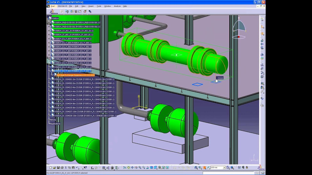 DMS :: Digital Manufacturing Solutions: CATIA V5 Piping