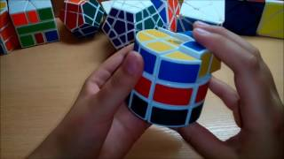 Сборка горизонтальной бочки, или цилиндра Рубика