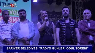 Sarıyer Belediyesi Radyo Günleri Ödül Töreni Medya24 TV