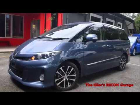 Toyota Estima 2 4 Aeras Premium 2013 Unregister For Sale Malaysia By The Giler S Recon Garage