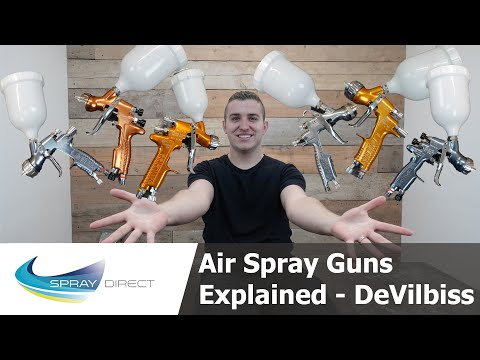 How To Pick The Right Air Spray Gun For You - DeVilbiss