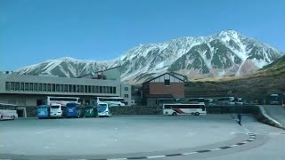 立山黒部アルペンルート(3) 立山高原バスで美女平から室堂へ Tateyama Kurobe Alpine Route