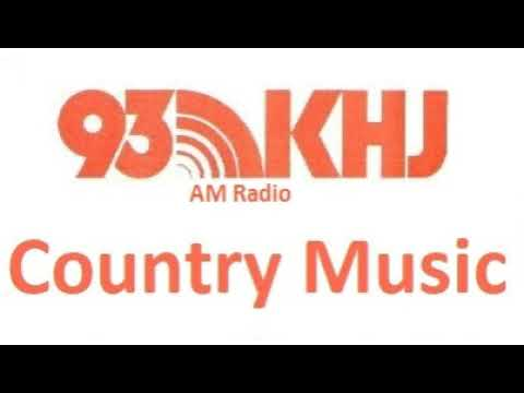 93 KHJ AM Country  Radio Station bumpers from 1981
