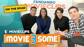 Sundance Special with Nate Parker & Aja Naomi King: Movie3Some On The Road