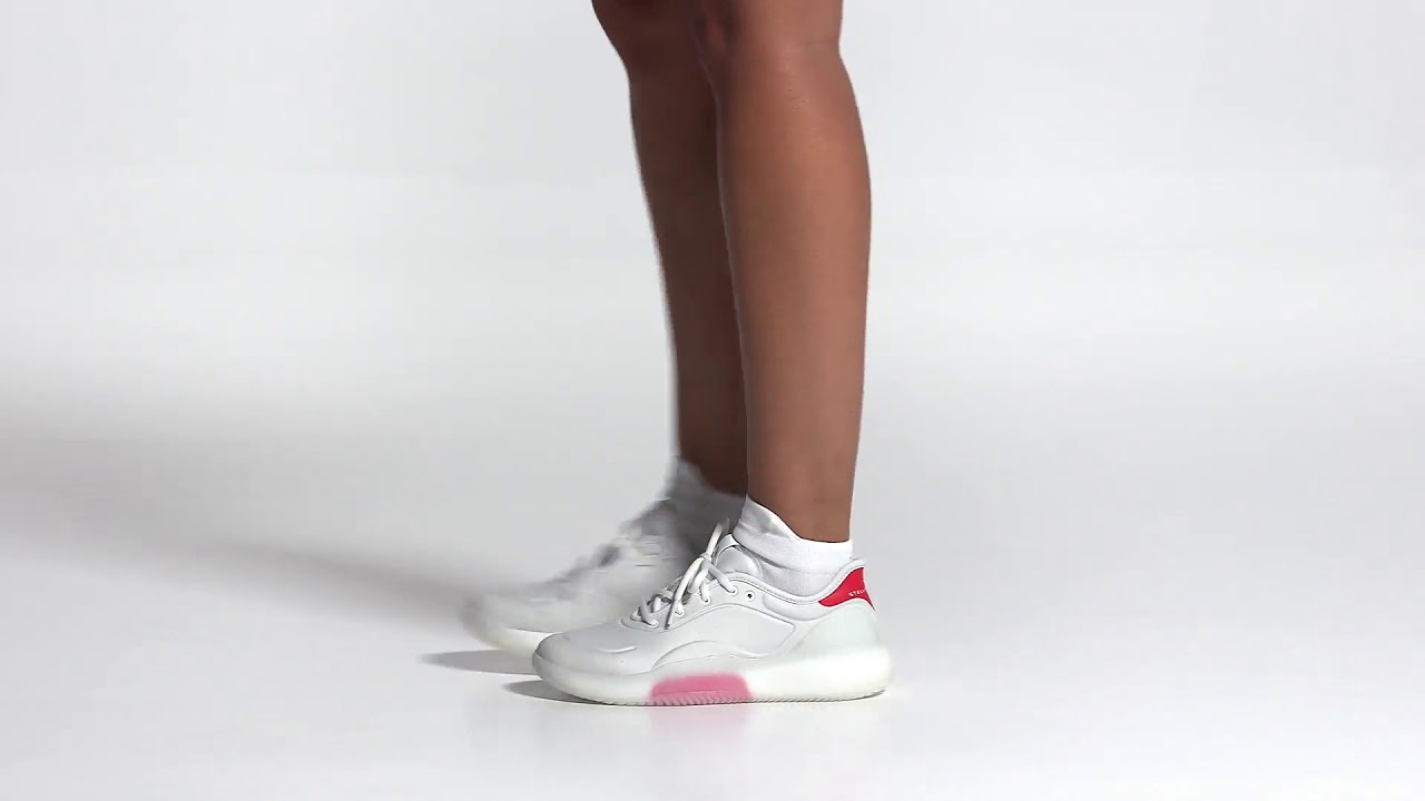 adidas by Stella McCartney Court Boost Shoes Red | adidas