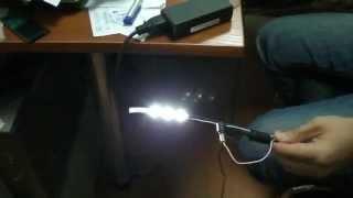 видео как подключать светодиоды к источнику питания