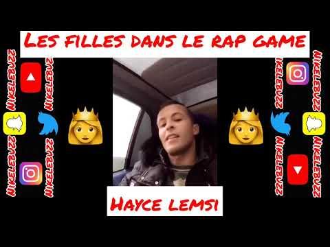 HAYCE LEMSI donne son AVIS sur les MICHTONEUSE dans le RAP GAME