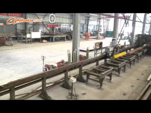 BBD Outdoor billboard  steel structure production process