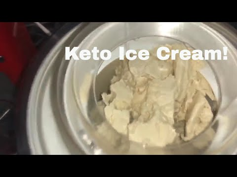 Keto Ice Cream With The Cuisinart Ice Cream Maker