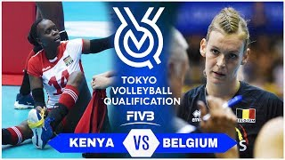 KENYA vs BELGIUM | Highlights - Women | Volleyball Olympic Qualifying Tournament 2019 (HD)