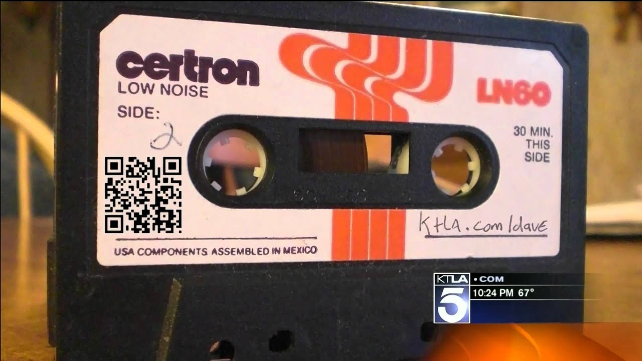 How to record from a cassette video recorder through the TV on the laptop to disk 68