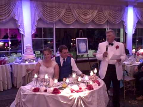John Levy Gives Speech at Wedding of Victoria Melroy and Andrew Levy