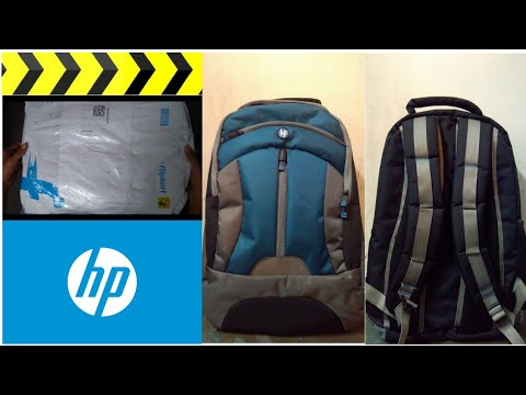 HP Laptop Backpack Unpacking | Online Buy