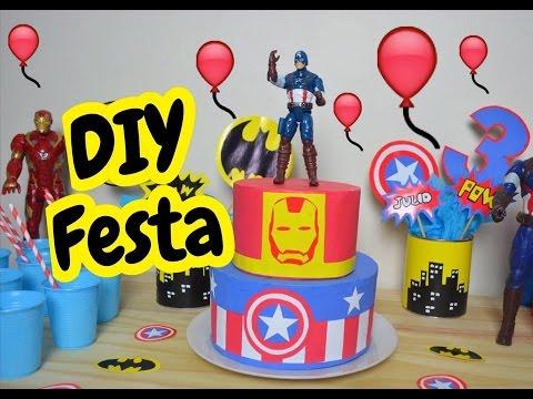 Artigos para festa super herois