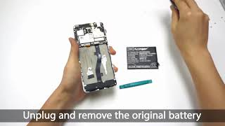 MEIZU M681Q battery replacement || How to replace Cameron Sino battery CS-MX680SL