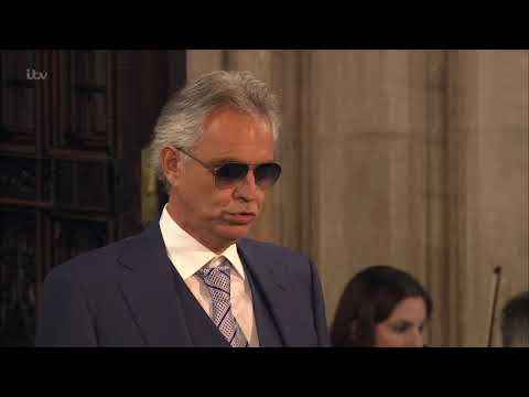 Andrea Bocelli & the Royal Philharmonic Orchestra - Ave Maria - Royal Wedding - 12th Oct 2018