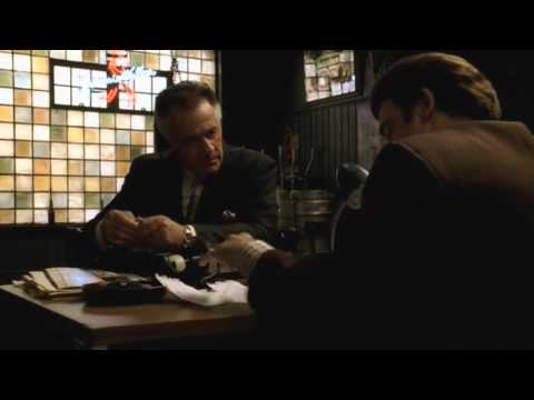 Paulie is discussed with Silvio - The Sopranos HD