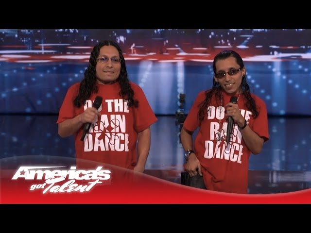 Lil Mike And Funny Bone Perform Original Song Do The Rain Dance America S Got Talent 2013 Youtube