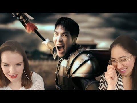 蕭敬騰 Jam Hsiao《蒼天英雄誌》Heaven Hero Reaction Video