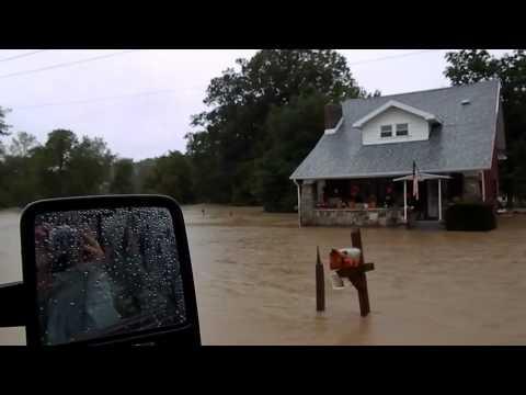 Flood in Glen Aubrey, NY