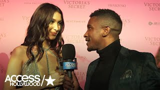 Bella Hadid Reacts To Her Victoria's Secret Fashion Show Debut | Access Hollywood