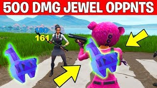 """Deal 500 Damage to Jewel Carrying Opponents"" Fortnite HIGH STAKES CHALLENGES – GETAWAY LTM"