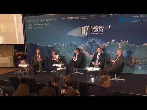 """""""A Transatlantic Anchor for Europe's Periphery?"""" at Bucharest Forum 2017"""