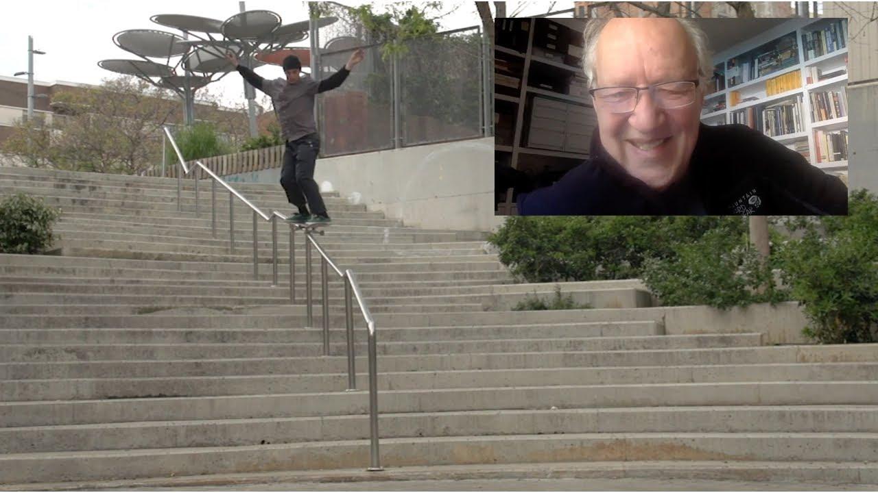 Werner Herzog on Skateboarding & ASTONISHING Failure (ie. Success)
