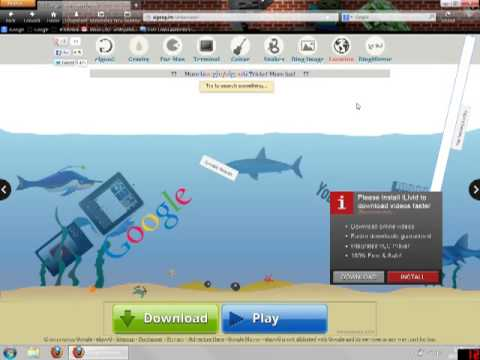 Google  UnderWater - Part 2 Of Google Stuff!