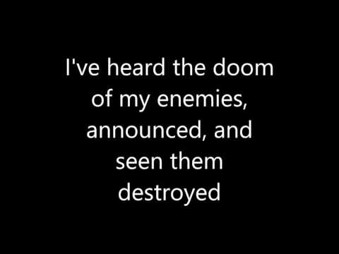 Psalm 92 with Lyrics c) 2016 Michael A. Bee