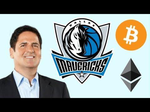 Mark Cuban : Use Bitcoin & Ethereum to Buy Dallas Mavericks Tickets Next Season! Crypto Adoption