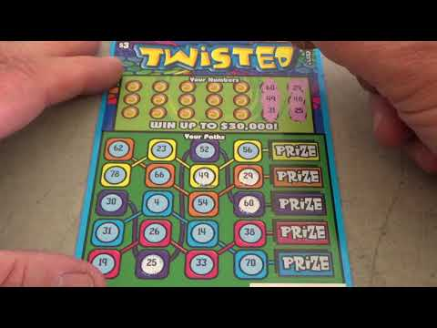 #8 Lottery Challenge Scratcher Tickets From Nevada Arcade Channel & Yoshi