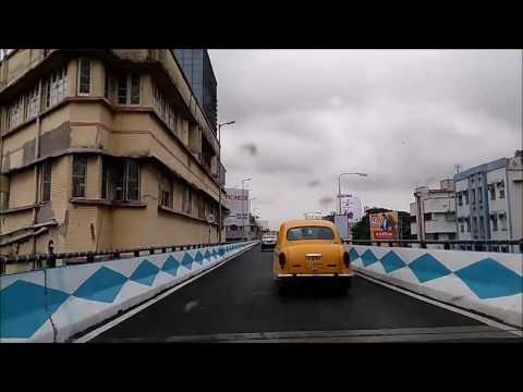 A trip on the new flyover(s) in Kolkata
