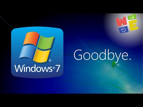 Goodbye Windows 7.