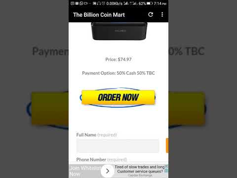 We Accept full TBC for payment (TBCMART STORE)