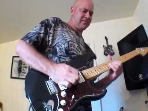 Gary Fox - Power Solo Sweeps and Fast Picking on a Fender Stratocaster
