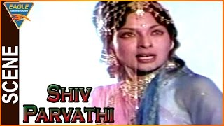 Shiv Parvathi Hindi Movie || Mallika Sarabhai Best Scene || Aravind Trivedi || Eagle Hindi Movies