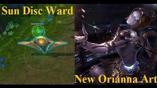 Sun Ward Skin + New Orianna Splash Art Spotlight - LoL PBE Double Feature Preview
